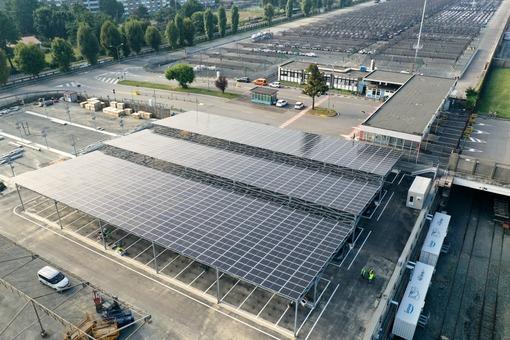 Impianto Fotovoltaico per FCA - Mirafiori - Torino